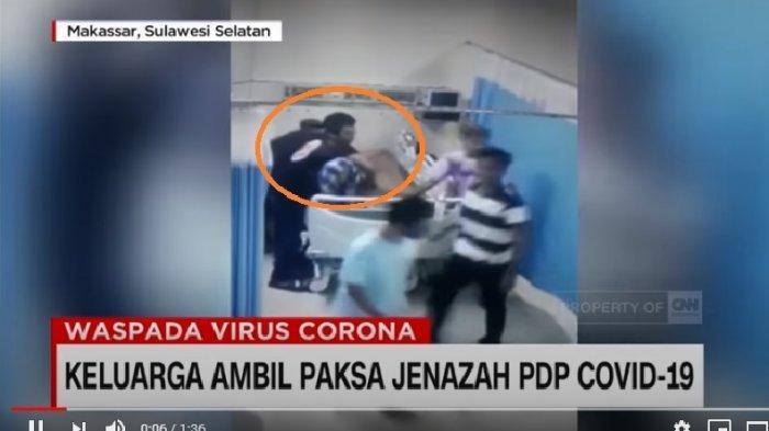 VIDEO MENCEKAM 50 Orang Bersenjata Tajam Geruduk Rumah Sakit, Ambil Paksa Jenazah Pasien PDP Corona