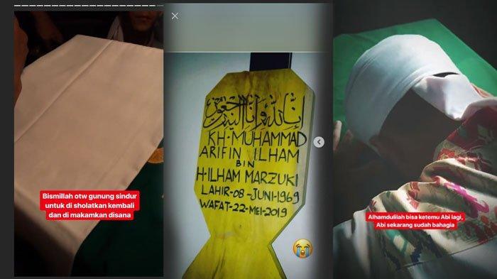 Jenazah Ustaz Arifin Ilham akan Dimakamkan