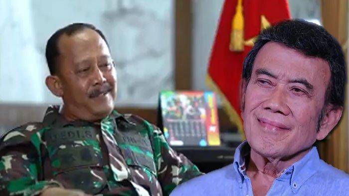 DIKENAL Tegas, Jenderal TNI Ini Rupanya Fans Berat Rhoma Irama, Marahi Prajurit Pakai Lagu Bang Haji