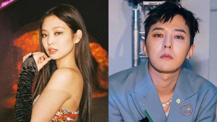 Jennie BLACKPINK dan G-Dragon dikabarkan menjalin hubungan asmara