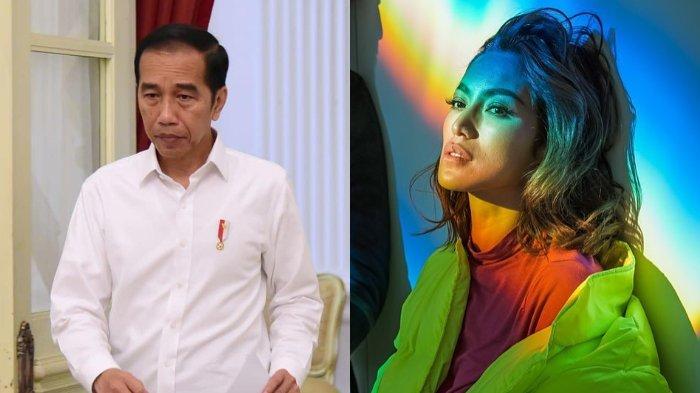 Ikut Berduka, Jessica Iskandar Kirim Support untuk Jokowi Selepas Kematian Ibunda: Semangat ya Pak