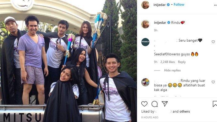 Jessica Iskandar unggah foto jadul bareng mendiang Olga Syahputra.