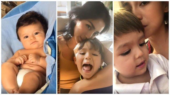 Jessica Iskandar unggah video haru di momen ulang tahun El Barack.