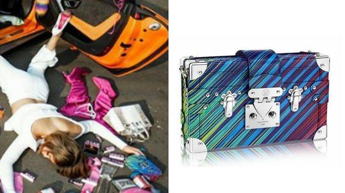 Ikutan #fallingstarschallenge, Jessica Iskandar Rela Gunakan Mini Bag dengan Harga Rp 80 Jutaan
