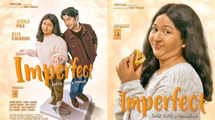 Impian Jessica Mila Terwujud, Beradu Akting dengan Reza Rahadian di Film 'Imperfect'
