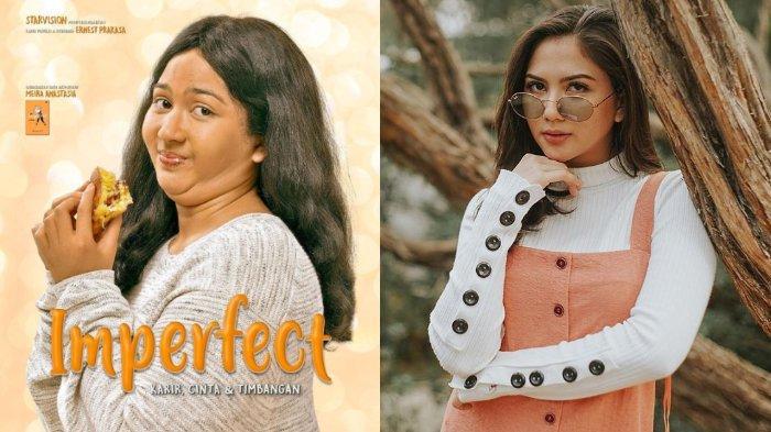 Jessica Mila Perankan Wanita Tambun di Film Imperfect, Rekan Reza Rahadian Tak Peduli Berat Badan