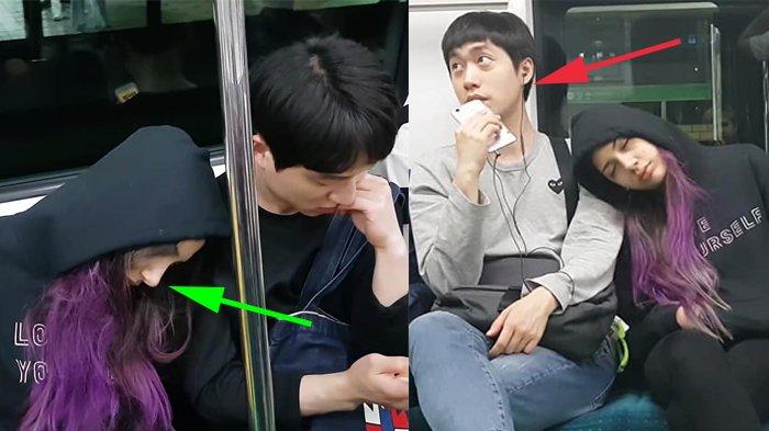 Viral Cewek Kerap Tidur di Kereta dan Bersandar di Bahu Pria, Akhirnya Niat Aslinya Terungkap!