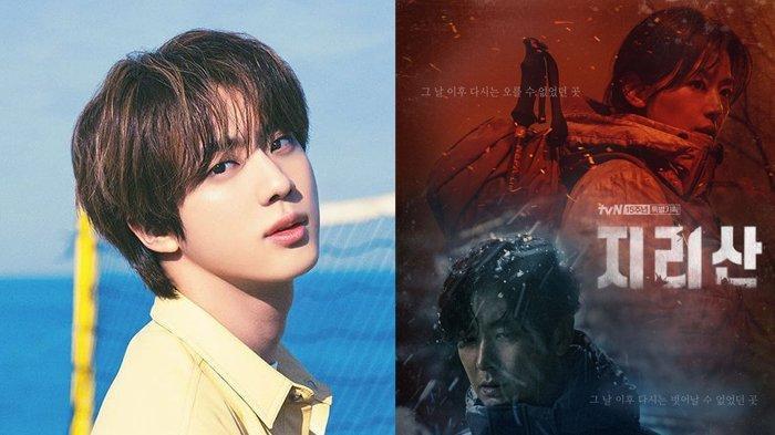 Jin BTS Bakal Tampil Solo untuk OST Drama Korea 'Jirisan' yang Dibintangi Jun Ji Hyun