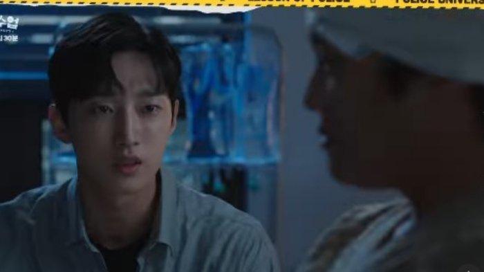 Cuplikan drama Korea Police University episode 12