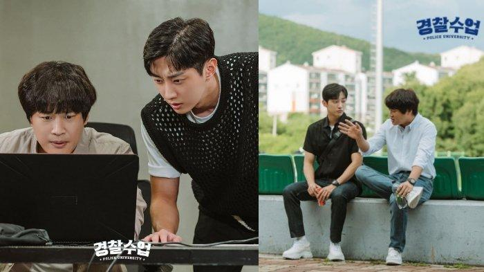 Police University Makin Seru, Intip 3 Momen Persahabatan Terbaik Cha Tae Hyun & Jinyoung B1A4