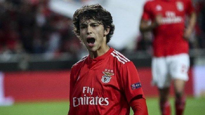 Joao Felix Si Bocah The Next Cristiano Ronaldo Ukir Sejarah Baru di Liga Eropa bersama Benfica