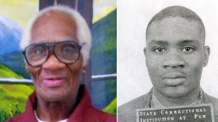 Joe Ligon dalam beberapa tahun terakhir (pergi) dan fotonya pada 1963, (kanan). Dia dijatuhi seumur hidup namun akhirnya dibebaskan pada 2021 setelah mendeka selama 68 tahun di penjara