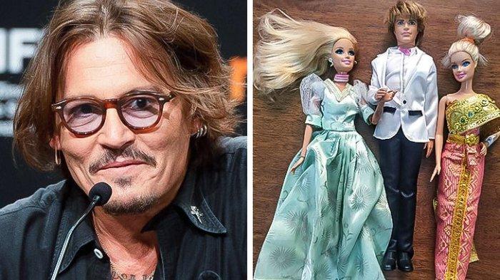 Tak Disangka, 9 Seleb Hollywood Ini Hobi Koleksi Barang Aneh, Johnny Depp Kumpulkan Boneka Barbie