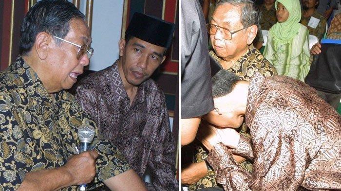 TERPOPULER! Tak Sengaja Nemu Foto Lawas Jokowi Cium Tangan Gus Dur, Fotografer Ini Ungkap Hal Besar