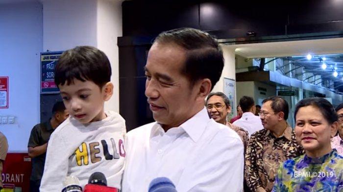 Jokowi dan Jan Ethes wawancara soal kelahiran La Lembah Manah
