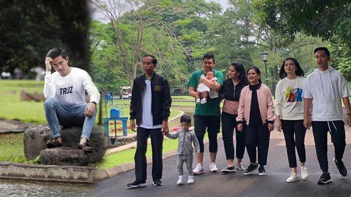 Keluarga Presiden Jokowi Kompak Habiskan Akhir Pekan di Kebun Raya Bogor, Kemana Kaesang?