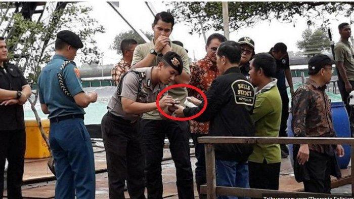 Breaking News! Foto Terbaru Tangan Presiden Jokowi Berdarah-darah karena Kepatil Udang di Bekasi