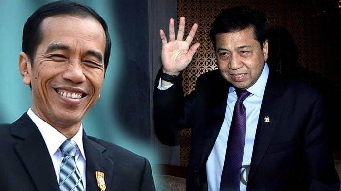 Tahu Setya Novanto Benjol Segede Bakpao Karena Kecelakaan, Begini Reaksi Tak Terduga Presiden Jokowi