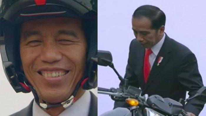 Jokowi Unggah Pesan Penuh Makna Jelang Debat Pilpres 17 Januari 2019: Hati Picik vs Sikap Sabar