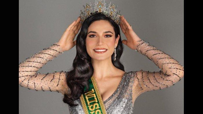 Tak Kalah Cantik dari Andrea Meza, 7 Pesona Julia Gama Runner Up 1 Miss Universe 2020 dari Brasil