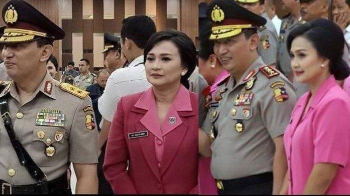 Juliati Sapta Dewi Magdalena istri dari Kapolri Jenderal Listyo Sigit Prabowo