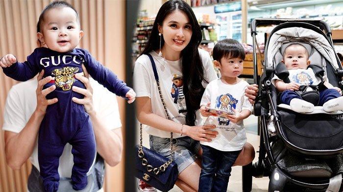 Anak Kedua Sandra Dewi Genap Berusia Lima Bulan, Mikhael Moeis pakai Jumpsuit Kece Bernilai Jutaan