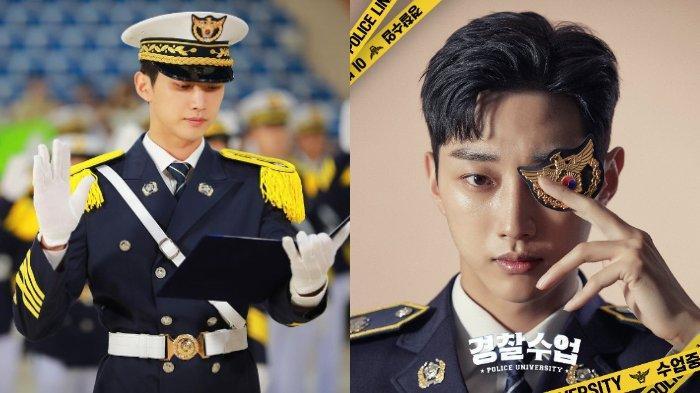 Jung Jin Young B1A4 sebagai Kang Sun Ho di drama Korea Police University