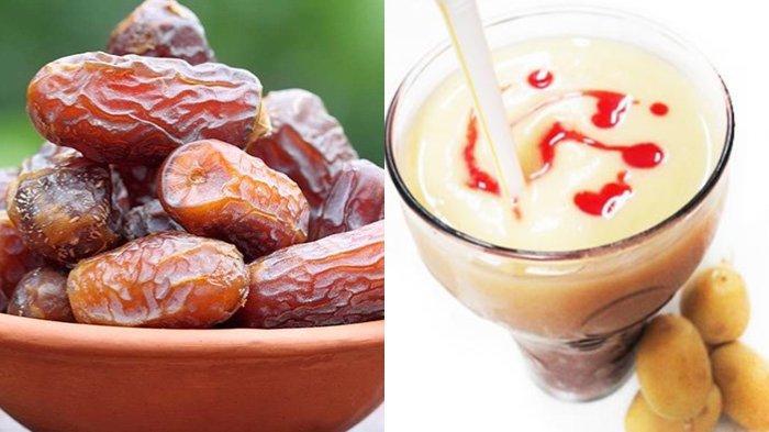 Ramadhan 2021 - 3 Resep Es Menyegarkan dari Olahan Kurma, Kesegarannya Cocok untuk Menu Buka Puasa