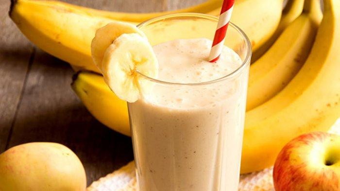 Ilustrasi jus pisang.
