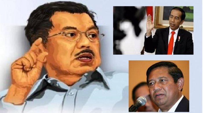 LEBIH ENAK Jadi Wakil Presidennya SBY atau Jokowi? Jusuf Kalla Beberkan Beda Kepemimpinan Keduanya