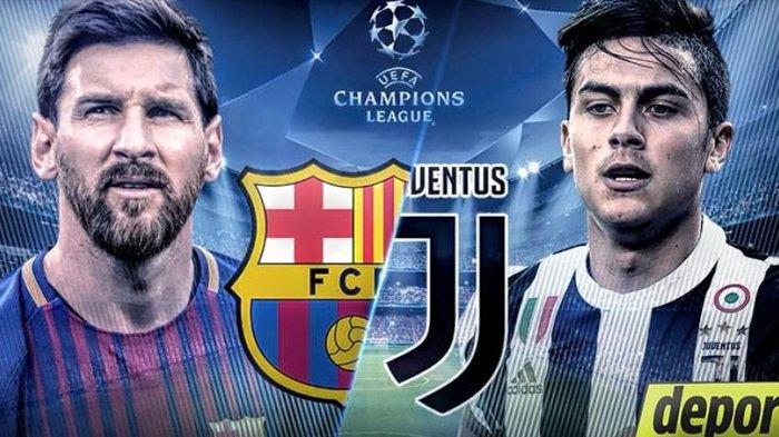 Jadwal & Prediksi Liga Champions Juventus vs Barcelona ...