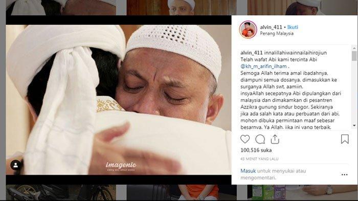 KABAR DUKA : Ustaz Arifin Ilham Meninggal Dunia, Sejumlah Artis Ikut Berduka hingga Menangis