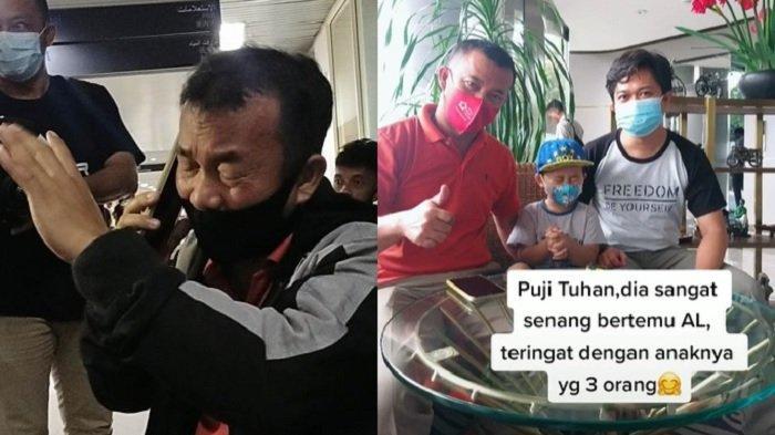 DULU Viral Nangis di Bandara, Yaman Zai Kini Senyum Ikhlas Istri & 3 Anak Jadi Korban Sriwijaya Air