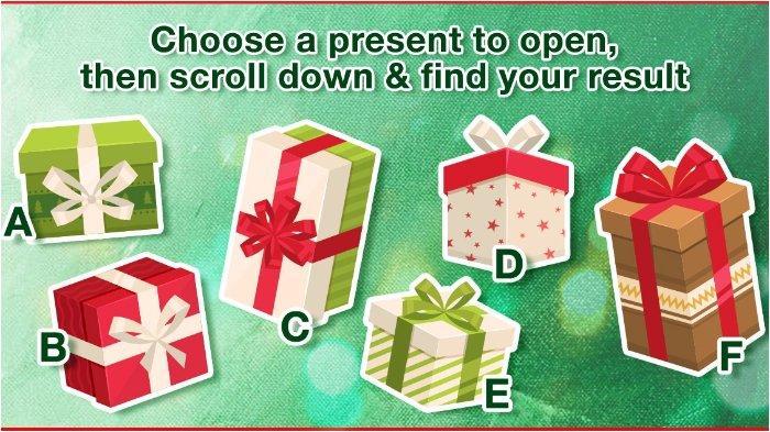 Pilih Satu dari 6 Hadiah Natal yang Paling Ingin Kalian Buka, dan Lihat Makna di Balik Pilihanmu