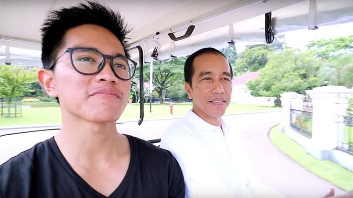 Kaesang dan Jokowi