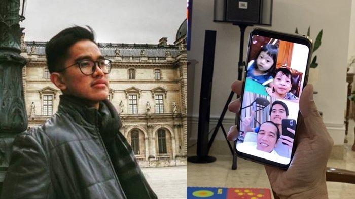 Sempat Curhat Ponakan Tak Mau Video Call-an, Kaesang Nimbrung Jokowi Telponan Bareng Sedah - Ethes