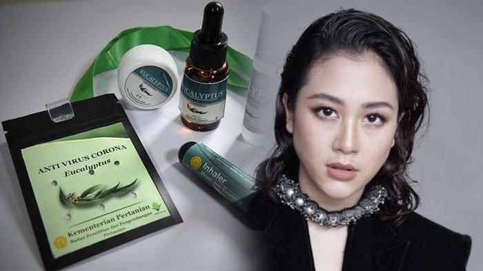 Sherina Munaf Ragukan Kalung Eucalyptus Kementan, 'Covid-19 Itu Virus, Bukan Nyamuk'