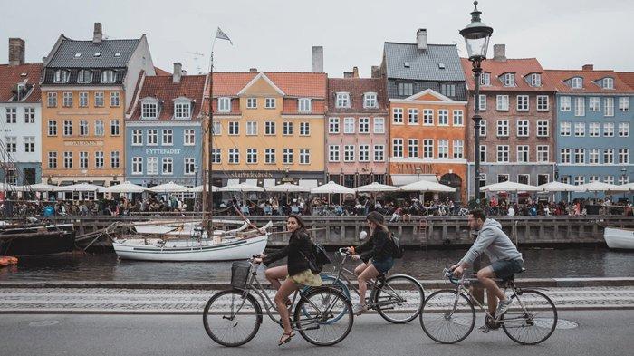 Kanal Nyhavn, Kopenhagen, Denmark, negara terbersih di dunia
