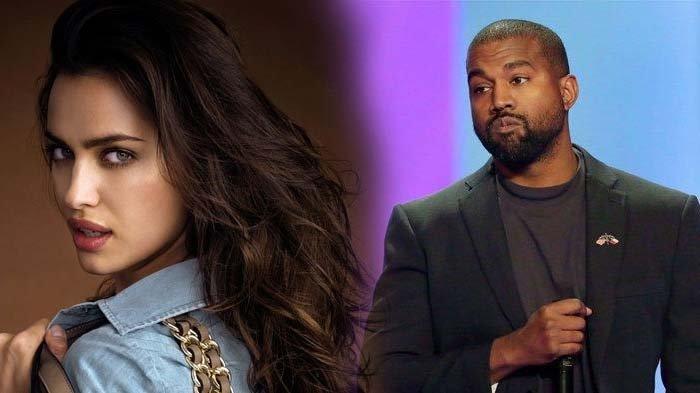 Kanye West dan Irina Shayk dikabarkan jalan bersama di Perancis