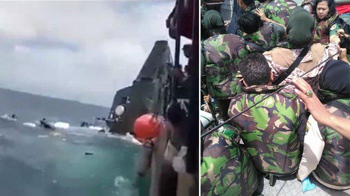 Video Detik-detik Tenggelamnya Kapal TNI di Kepulauan Seribu, Terdengar Jerit Tangis Memilukan!