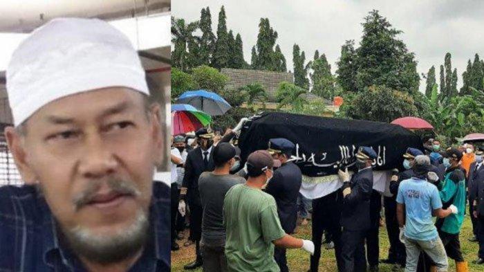 Prosesi pemakaman Captain Afwan di Taman Makam Bahagia (TMB) Pondok Rajeg, Cibinong, Kabupaten Bogor.