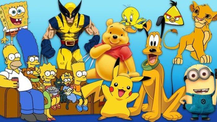 Alasan Karakter Kartun Anak-anak Banyak yang Berwarna Kuning, Tak Sekedar Soal Lucu