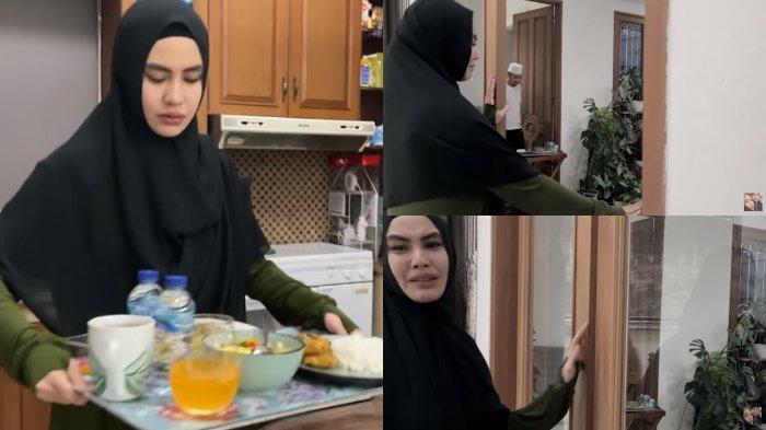PILU Kartika Putri Antar Menu Buka Puasa untuk Habib Usman, Sedih Terpaksa Berjauhan karena Covid-19
