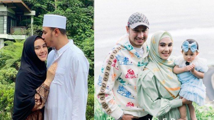 Potret keluarga Kartika Putri dan Habib Usman