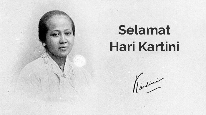 Kartini dan tanda tangannya.