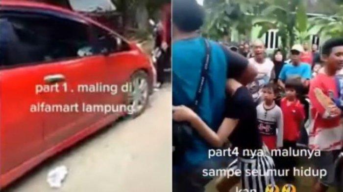 Kasus pencurian 3 gadis muda viral di media sosial