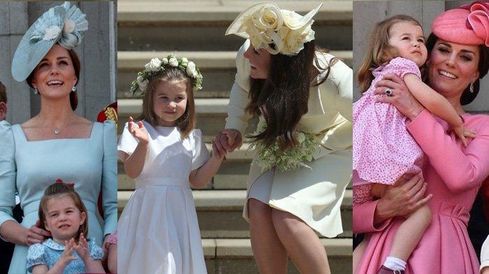 Alasan Penting Mengapa Kate Middleton Selalu Pakai Dress yang Berwarna Senada dengan Putri Charlotte