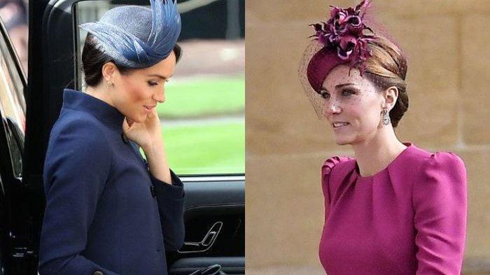 Adu Gaya Kate Middleton vs Meghan Markle di Royal Wedding Putri Eugenie, Pilih Siapa?