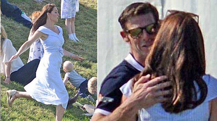 Kate Middleton Tertangkap Kamera Memeluk & Cium Pemain Polo, Bukan Pangeran William, Siapa Dia?