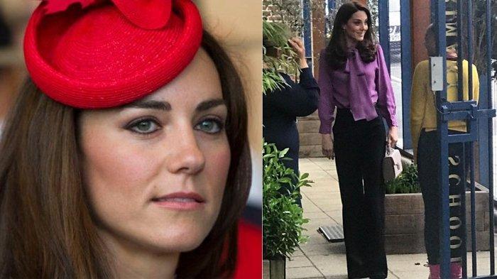 Pakai Baju 'Terbalik' Kancing di Belakang Pita di Depan, Blus Kate Middleton Ini Seharga Rp 15 Juta